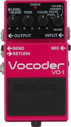 BOSS《ボス》VO-1[Vocoder]【期間限定★送料無料】※3月5日発売