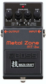 BOSS《ボス》MT-2W [MADE IN JAPAN] [Metal Zone 技 Waza Craft Series Special Edition] 【期間限定★送料無料】  【ef_p5】