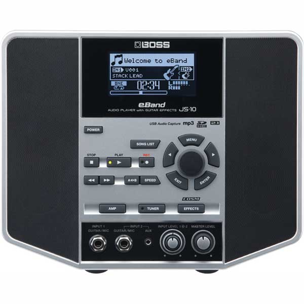 BOSS 《ボス》 eBand JS-10 [AUDIO PLAYER with GUITAR EFFECTS]【am_p10】