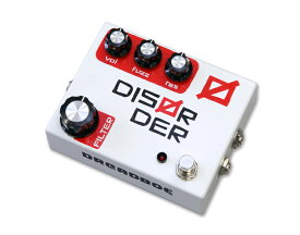DREADBOX《ドレッドボックス》DISORDER [Fuzz-Drive with VC Filter]【展示特価】