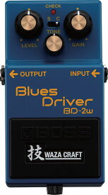 BOSS 《ボス》 BD-2W [Blues Driver 技 Waza Craft Series Special Edition] 【IKEBE×BOSSオリジナルデザイン風呂敷プレゼント】【ef_p5】