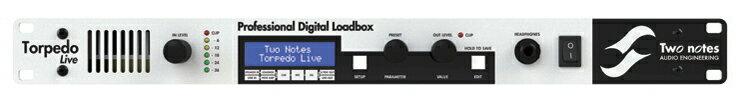Two Notes TORPEDO Live [Professional Digital Roadbox]【特価】