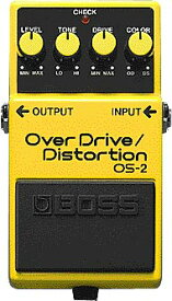 BOSS 《ボス》 OS-2 (OverDrive/Distortion)【期間限定★送料無料】 【ef_p5】【IKEBE×BOSSオリジナルデザインピックケースプレゼント】