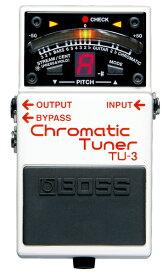 BOSS 《ボス》 TU-3 (Chromatic Tuner)【期間限定★送料無料】