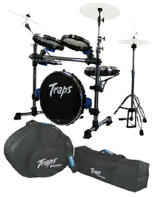 Traps Drums Traps Drums A400NC+Travel Bags [ポータブル・ドラム・キット&ケース・セット] 【スローン・サービス!】【お取り寄せ品】