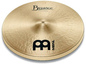 MEINL《マイネル》B14MH[Byzance Traditional / Medium HiHat pr]【2枚セット】