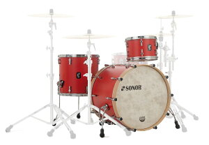 SONOR 《ソナー》 SQ1-320:HRR [SQ1 Series / 20BD Shell Set(20BD・12TT・14FT):HOT ROD RED] 【お取り寄せ品】
