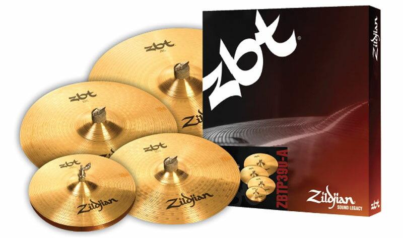 Zildjian/ZBT 《ジルジャン》 390-A Box Set(NAZLZBTP390A) [ZBTシンバルセット / 18インチ・クラッシュ1枚プレゼント!]