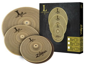"Zildjian/L80 Low Volume 《ジルジャン》 L80 LOW VOLUME 348 BOX SET [13"" HiHats・14"" Crash・18"" Crash Ride set / NAZLLV348]"