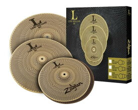 "Zildjian/L80 Low Volume 《ジルジャン》 L80 LOW VOLUME 468 BOX SET [14"" HiHats・16"" Crash・18"" Crash Ride set / NAZLLV468]"