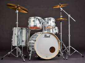 Pearl 《パール》 EXA725S/C #771 White Limba [EXPORT Series 数量限定カラーモデル:ホワイト・リンバ] 【バスドラム・マフラー(ミュート)付属】【お取り寄せ品】