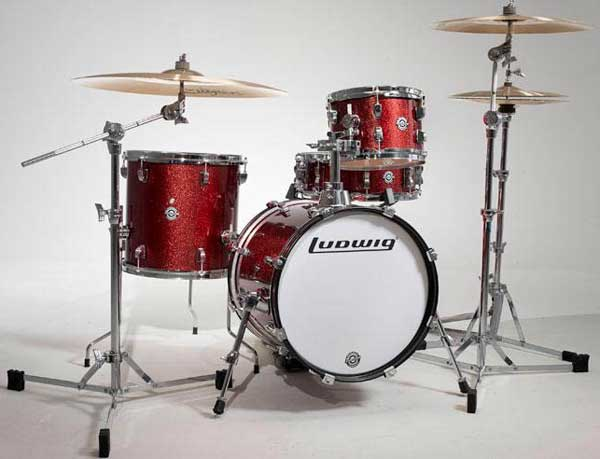 """Ludwig 《ラディック》 LC179X025 [BREAKBEATS OUT FIT / AHIMIR """"?UESTLOVE"""" THOMPSON Collaboration (Wine Red Sparkle)]"""