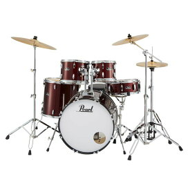 Pearl 《パール》 RS525SCWN/C #91 [ROADSHOW Drum Set / レッドワイン]【シンバル、ハードウェアまで付属したスターターセット】【〜6月30日まで!期間限定:特別プライスでご提供!】