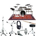 Roland 《ローランド》 TD-50KV2 TAMAハードウェアセット [V-Drums Kit + Bass Drum + Drum Stand]
