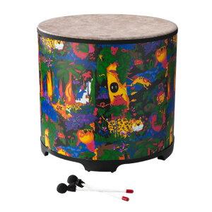 "REMO 《レモ》LREMKD522201 [Kids Percussion Gathering Drum/Fabric Rain Forest,22""]"
