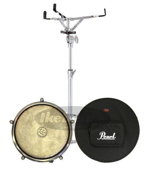 Pearl 《パール》Travel Conga Case & Light Stand Set [PTC-1100/PSC-1175TC/S-710]