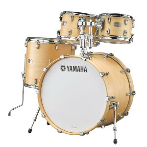 YAMAHA 《ヤマハ》 TMP0F4BTS [Tour Custom / All Maple Shell Drum Kit / BD20, FT14, TT12&10, ダブルタムホルダー付属/ バタースコッチサテン]【お取り寄せ商品】