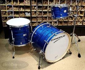 CANOPUS《カノウプス》 Birch Series 3pc Drum Set [Classic Kit 12 / Blue Onyx Covering]【店頭入荷!】
