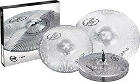 "Sabian《セイビアン》SAB-QTPC502 [QUIETTONE Cymbal Practice Kit (13"" Hats / 14"" Crash / 18"" Crash Ride)] ※お取り寄せ品(納期確認中)"
