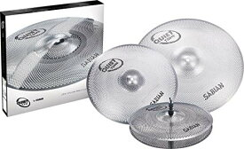 "Sabian《セイビアン》SAB-QTPC503 [QUIETTONE Cymbal Practice Kit (14"" Hats / 16"" Crash / 20"" Ride)] ※お取り寄せ品"