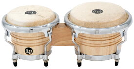 LP 《Latin Percussion》 LPM199-AW [LP Music Collection: Natural Wood Bongos Mini / Tunable] ※お取り寄せ品