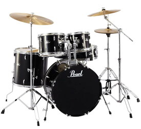 Pearl 《パール》 RS525SCW/C #31:JET BLACK [ROADSHOW Drum Set] 【教則DVD&ホールカット・リング / プレゼント!】 【お取り寄せ品】