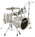 CANOPUS《カノウプス》 BRO'S DRUM KIT [ SK-16:4pc Kit (16BD/13FT/10TT/13SD)][Platinum Quartz]【お取り寄せ商品】