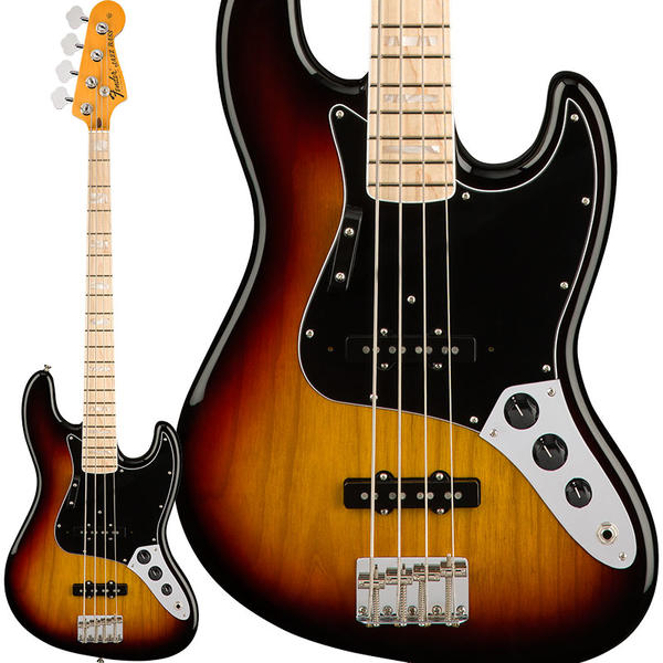 Fender 《フェンダー》American Original '70s Jazz Bass (3-Color Sunburst) [Made In USA] 【お取り寄せ品】【FENDER THE AUTUMN-WINTER 2018 CAMPAIGN】【b_p5】