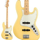 Fender フェンダー Player Jazz Bass (Buttercream/Maple) [Made In Mexico] 【お取り寄せ商品】【FENDER THE AUTUMN-WINTER 2018 CAMP…