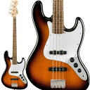 Squier by Fender《スクワイヤーbyフェンダー》 Affinity Series Jazz Bass (Brown Sunburst)【特価】