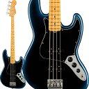 Fender 《フェンダー》 American Professional II Jazz Bass (Dark Night/Maple)【入荷待ち、ご予約受付中!】