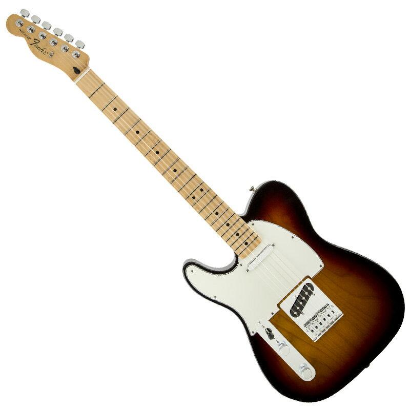 Fender 《フェンダー》 Standard Telecaster Lefty (Brown Sunburst/Maple) 【チョイ傷特価】