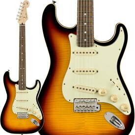 """Fender《フェンダー》 Made in Japan Limited Edition Aerodyne Classic Stratocaster Flame Maple Top (3-Color Sunburst)【g_p5】【数量限定""""Pathfinder 10 福袋""""プレゼント!】"""