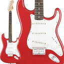 Squier by Fender 《スクワイヤーbyフェンダー》 Bullet Stratocaster Hard Tail (Fiesta Red)