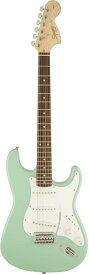 Squier by Fender 《スクワイヤーbyフェンダー》 Affinity Series Stratocaster (Surf Green/Laurel Fingerboard)【本数限定超特価!!】