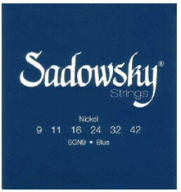 Sadowsky 《サドウスキー》 ELECTRIC GUITAR STRINGS SGN9Blue [Blue Label Nickel Plated] (09-42)