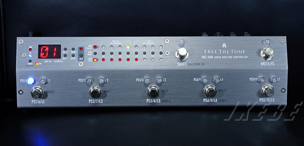 Free The Tone ARC-53M AUDIO ROUTING CONTROLLER 【SILVER COLOR MODEL】【最新Version 2.0 即納可能です!】【ef_p5】