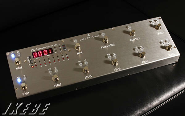 Free The Tone ARC-3 [Routing Controller] 【SILVER COLOR MODEL】【ef_p5】