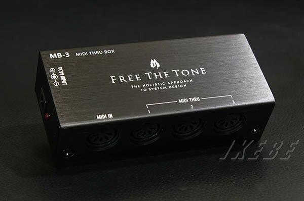 Free The Tone MB-3 [MIDI THRU BOX]
