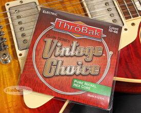 ThroBak Electronics Vintage Choice Pure Nickel Guitar Strings [Hex Core/Light 10~46]