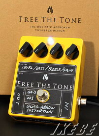 Free The Tone Quad Arrow Distortion【入荷】