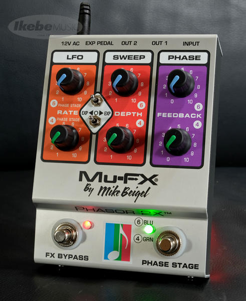 MU-FX PHASOR 2X [Designed by Mike Beigel]