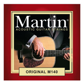 MARTIN ORIGINAL 80/20 BRONZE Acoustic Guitar Strings (M140/012-054)×3set 【特価】