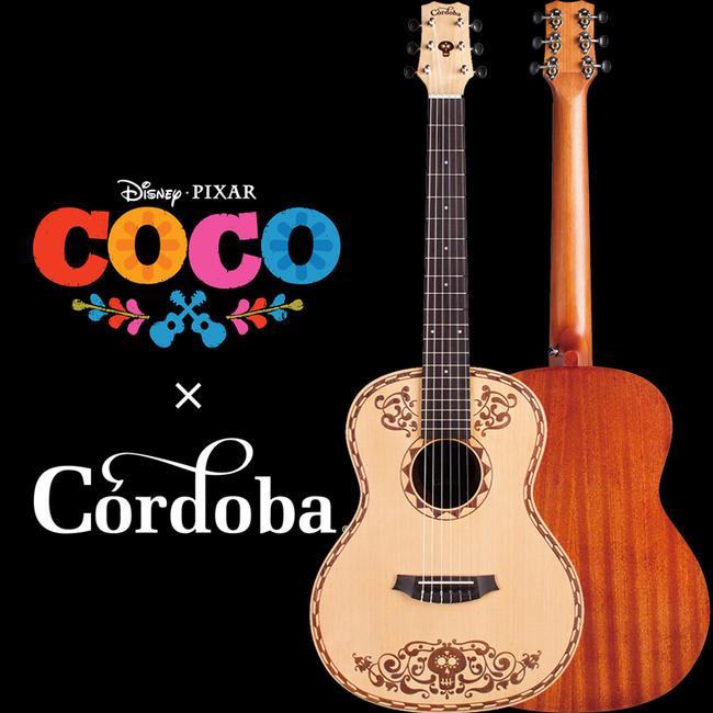 Cordoba 《コルドバ》 Coco Guitar [ディズニー/ピクサー映画「リメンバー・ミー」オフィシャルギター]【即納可能】【送料無料】
