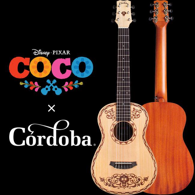 Cordoba 《コルドバ》 Coco Mini SP [ディズニー/ピクサー映画「リメンバー・ミー」オフィシャルギター]【即納可能】【送料無料】
