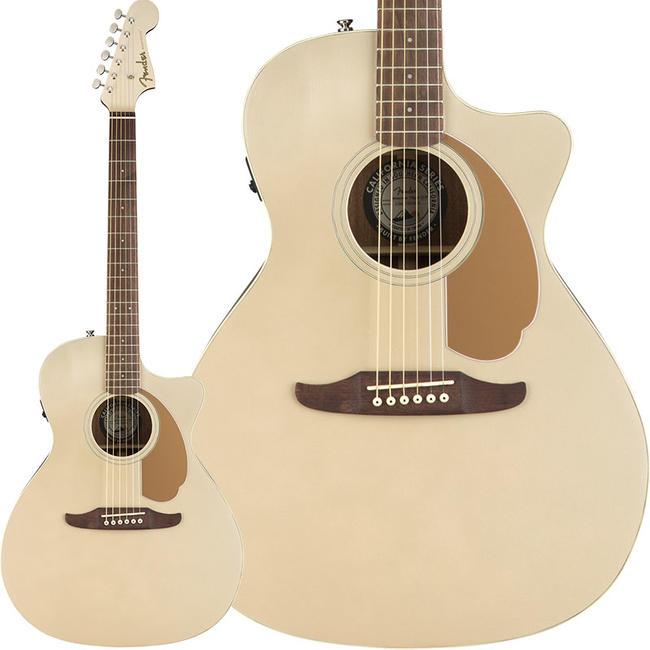 Fender Acoustics 《フェンダー・アコースティック》 Newporter Player (Champagne)【期間限定プライス】