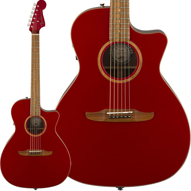 Fender Acoustics 《フェンダー・アコースティック》 Newporter Classic (Hot Rod Red Metallic)【特価】