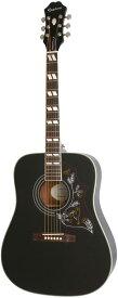 Epiphone by Gibson 《エピフォン》 Limited Edition Hummingbird PRO (Ebony) 【数量限定エピフォン・アクセサリーパック・プレゼント】 【epi_ltd】【hb_ltd】