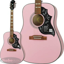 Epiphone by Gibson 《エピフォン》 Limited Edition Hummingbird PRO (PK) 【数量限定エピフォン・アクセサリーパック・プレゼント】【hb_ltd】
