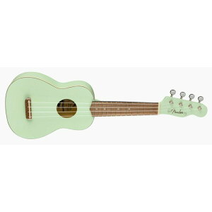 Fender Acoustics 《フェンダー・アコースティック》 VENICE SOPRANO UKULELE Surf Green 【チョイキズ特価】